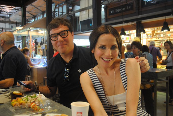 Happy birthday, Andrea Corr 44  Mercado de San Miguel, Madrid  Juny 2011
