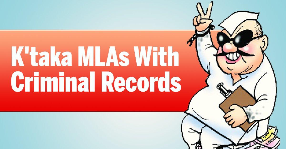 Karnataka assembly: MLAs with criminal records   Read: https://t.co/VgHv2UGZNE https://t.co/HJxjo9b4b2