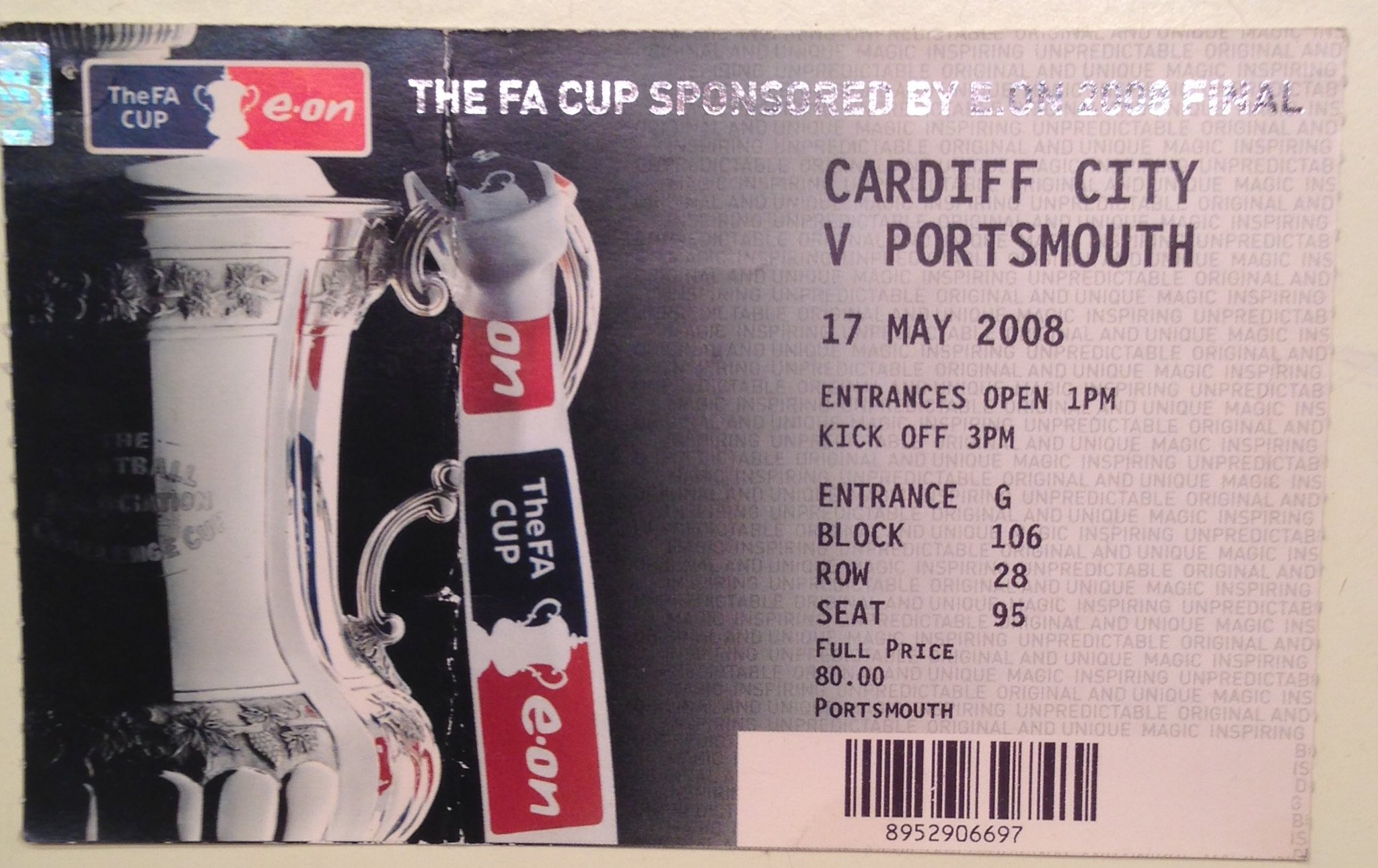 #Pompey fans before leaving home #OTD 10 years ago:  Cup final ticket ✅ Keys ✅ Cup final ticket ✅ Wallet ✅ Cup final ticket ✅ Cup final ticket ✅ Cup final ticket ✅  We couldn't be too careful! #PompeyHistory https://t.co/WebTj3rrLB