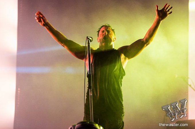 Happy Birthday to Trent Reznor of Nine Inch Nails! (Photo: Joe Papeo)