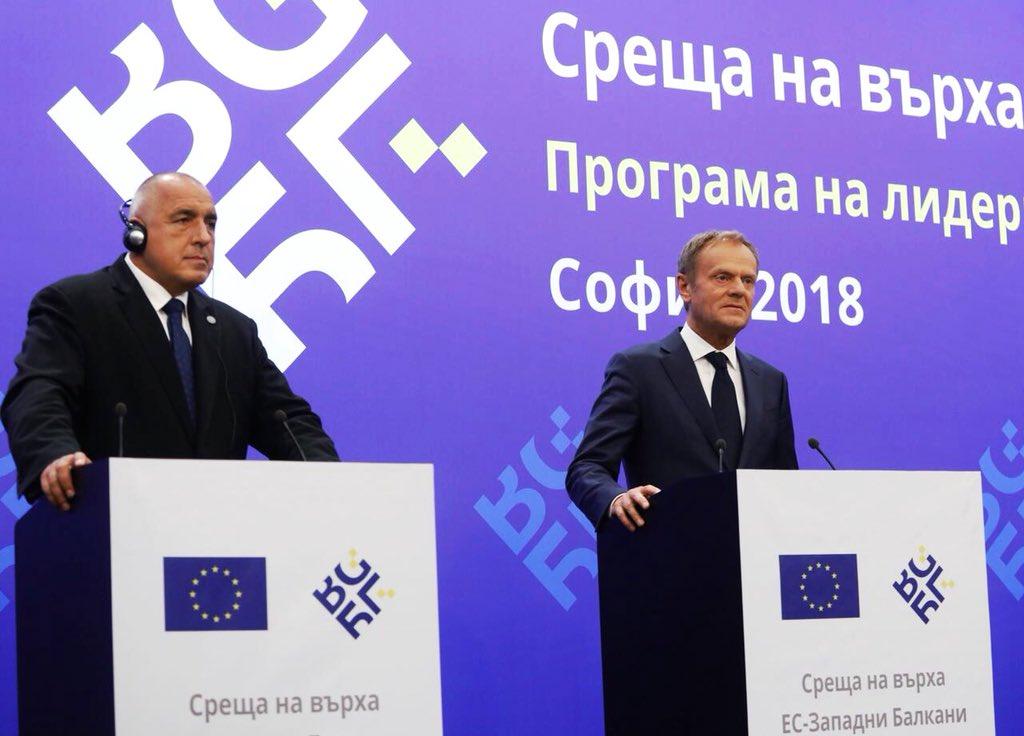 RT @eucopresident: My remarks following a very good and fruitful EU-Western Balkans summit: https://t.co/BD7aVWgeyR https://t.co/U40BtDKeEa