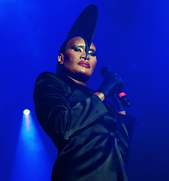 Happy 70th birthday Grace Jones! Here\s what happened when she met our
