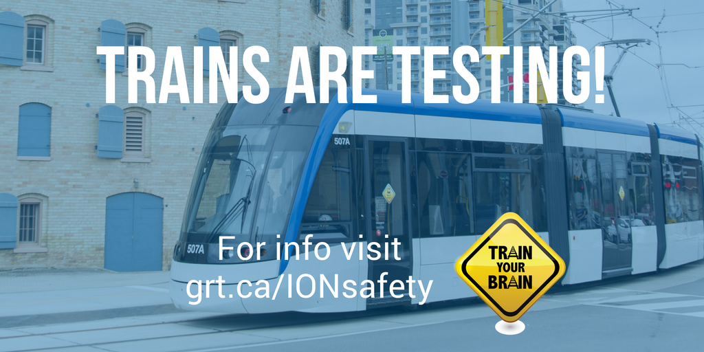 Trains are testing! Be sure to follow the signage and stay alert #myIONthetrain https://t.co/Wmcn76dk2T https://t.co/yzgBC84hMp