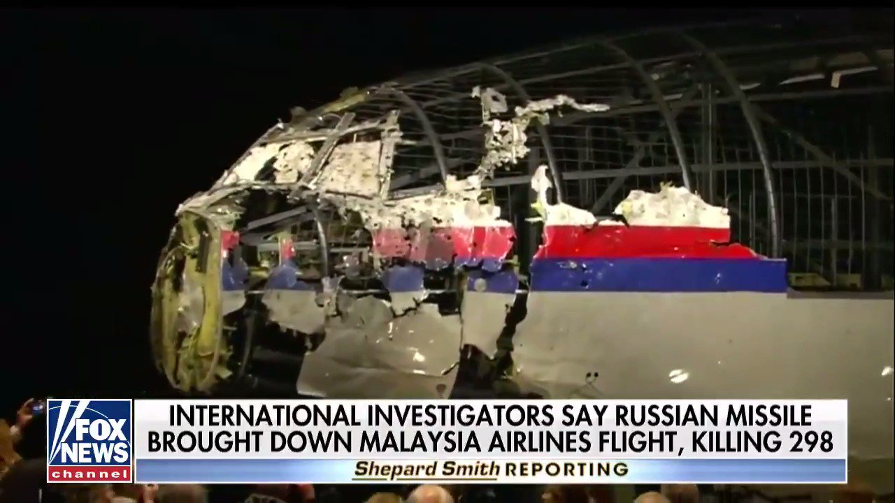 Russian military missile downed MH17 passenger jet in 2014, investigators say @ShepNewsTeam  https://t.co/u9XBapsaRn https://t.co/RAFDQXMD59