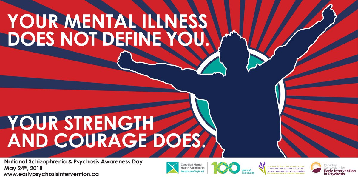 test Twitter Media - Today, for National Schizophrenia and Psychosis Awareness Day, remember that your illness doesn't define you – your strength does. #NSPAD18 #SupportSZ #CMHA100 https://t.co/DvSg5DuoQw