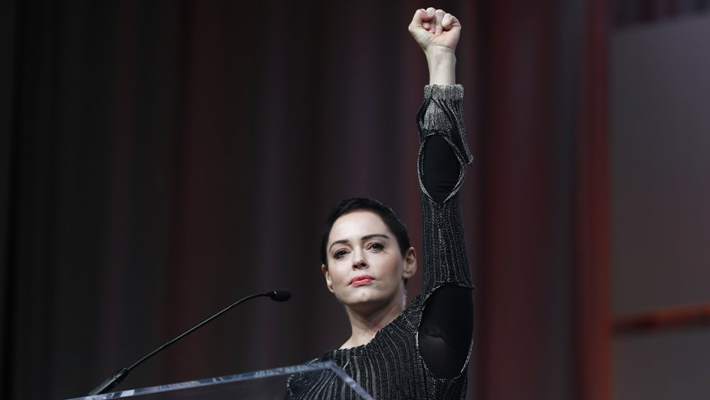 """.@rosemcgowan on Harvey Weinstein's impending arrest: """"We are closer to justice"""""""