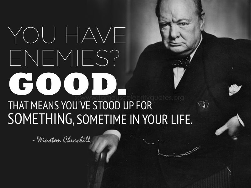 My favourite #WinstonChurchill quote and personal motto! #QOTD https://t.co/7df5VN9S25