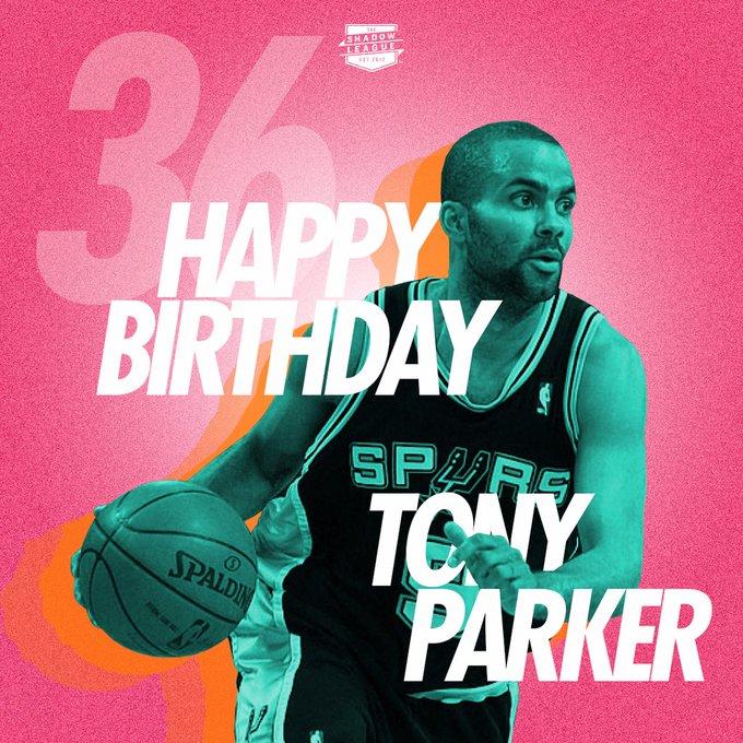 Happy 36th birthday to Tony Parker!