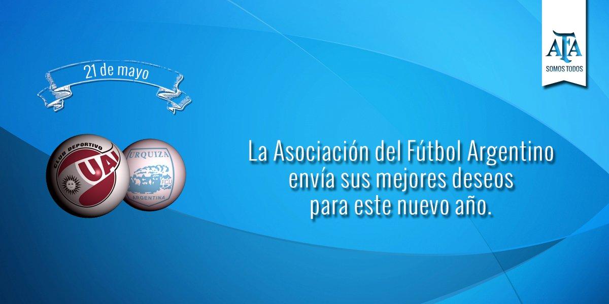 #FelizCumple a @clubuaiurquiza que hoy celebra un nuevo año de vida 🎈 https://t.co/pOBsGwv66a