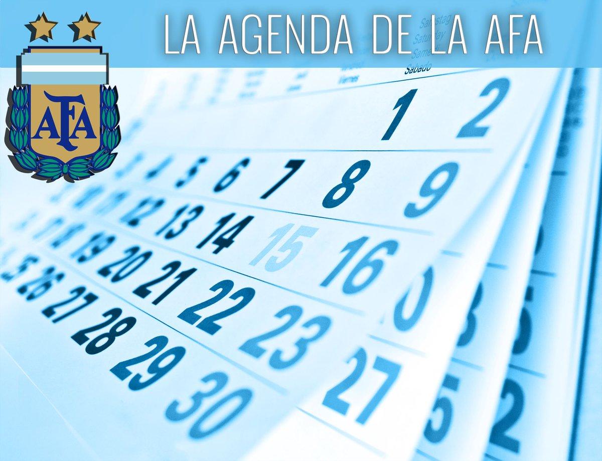 Toda la información de los equipos argentinos está en #LaAgendaDeLaAFA 🗓 https://t.co/gChkKccsnK https://t.co/nuogNsQKVv