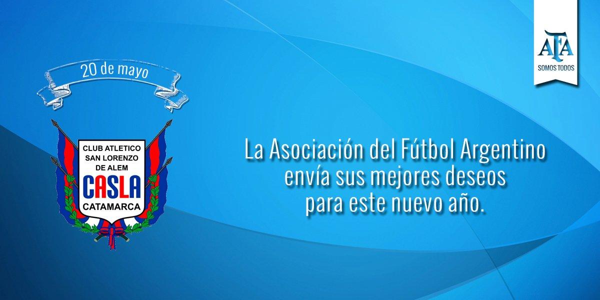 #FelizCumple para @SanLorenzoAlem en su 82° aniversario 🎉🎈 ¡Felicidades! https://t.co/BB8jQXyXYZ