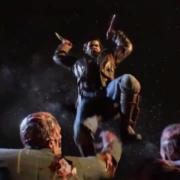 Call of Duty Black Ops 4 has you fighting zombies