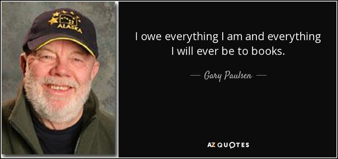 Happy birthday Gary Paulsen! How many of his books have you read?