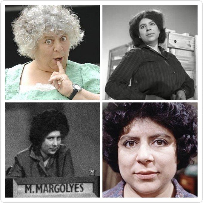 Miriam Margolyes is 77 today, Happy Birthday Miriam