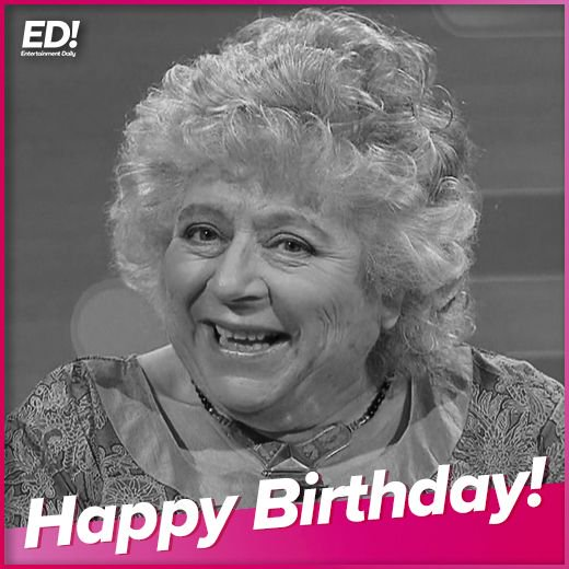 Happy Birthday Miriam Margolyes!