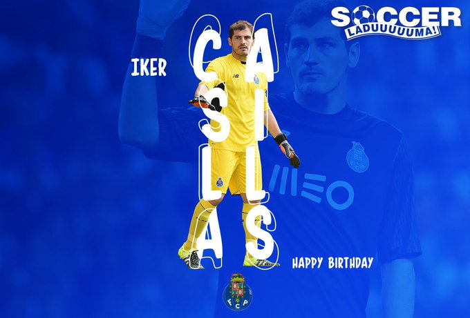 It\s Iker Casillas\ special day! Join us as we wish the legendary Spanish goalkeeper a Happy Birthday!
