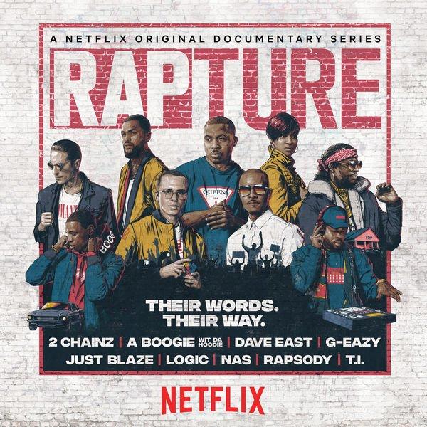 Stream the @rapturenetflix soundtrack with @Nas, @Tip, @JustBlaze, @2chainz, @Logic301: https://t.co/WsP835rlpY  https://t.co/gdzXa3qhrT