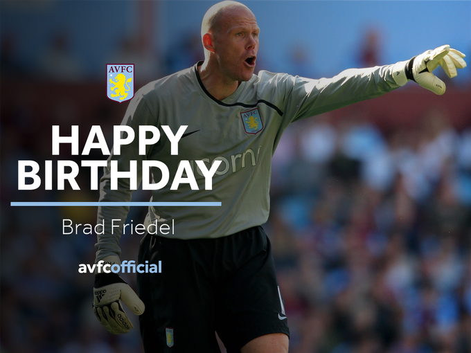 Happy Birthday today to our former keeper, Brad Friedel   Enjoy, Brad!