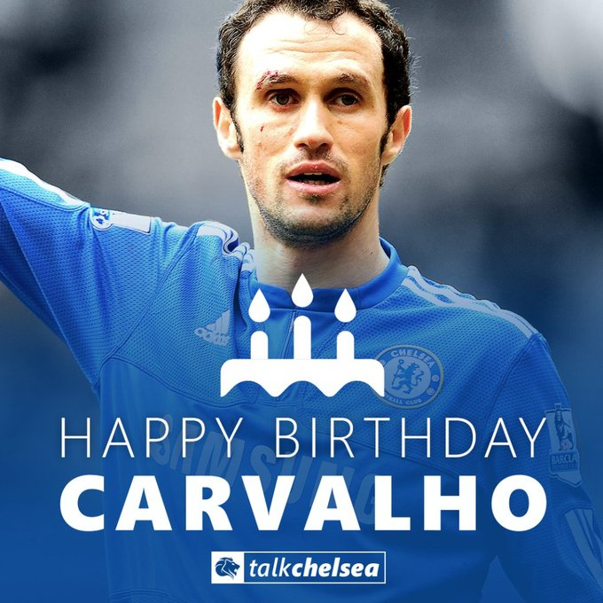 Happy Birthday to Chelsea legend Ricardo Carvalho! His partnership with John Terry was like a brick wall.