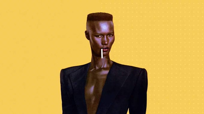 Happy 70th birthday, yes that\s right 70th, to Miss Grace Jones. This woman will always have swag