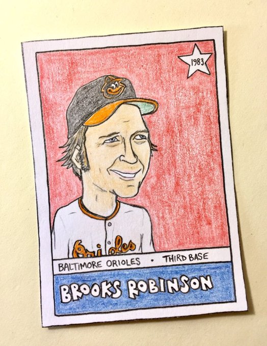 Happy birthday to Hall of Famers Brooks Robinson and Reggie Jackson!