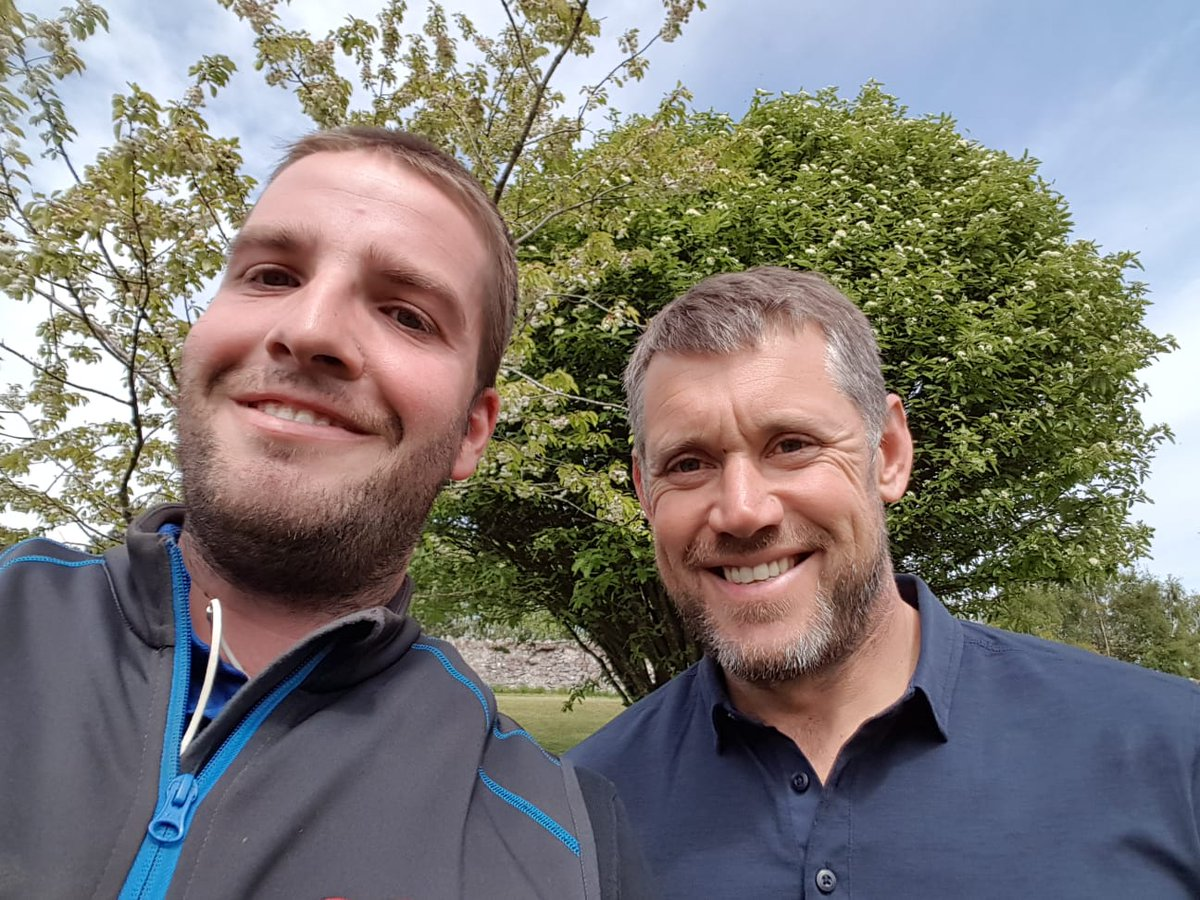 test Twitter Media - The great Lee Westwood paid us a visit today to congratulate Robert on becoming a fully qualified Greenkeeper. https://t.co/1uWTu762JL