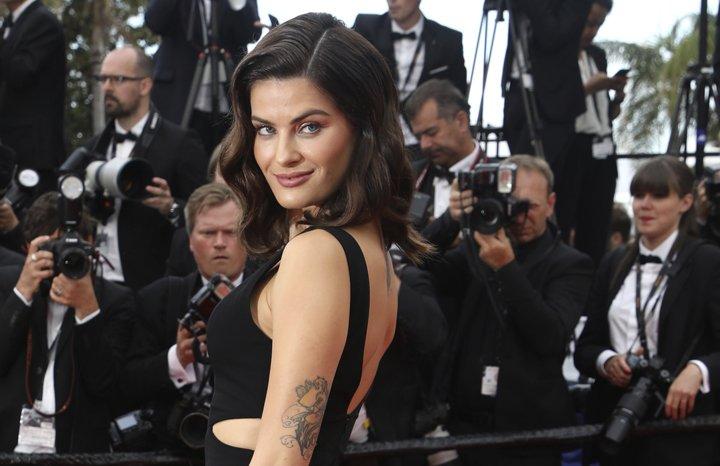@BroadcastImagem: A top brasileira Isabeli Fontana prestigia o 71º Festival de Cannes, no sul da França. Vianney Le Caer/AP