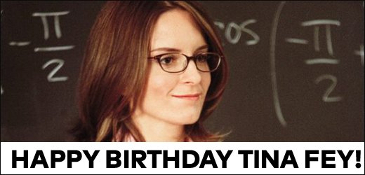 Happy birthday, Tina Fey! What\s your favourite movie of hers?