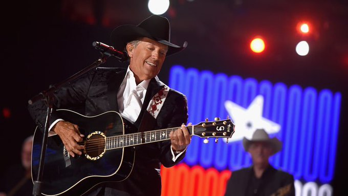 Happy birthday to Texas music legend George Strait