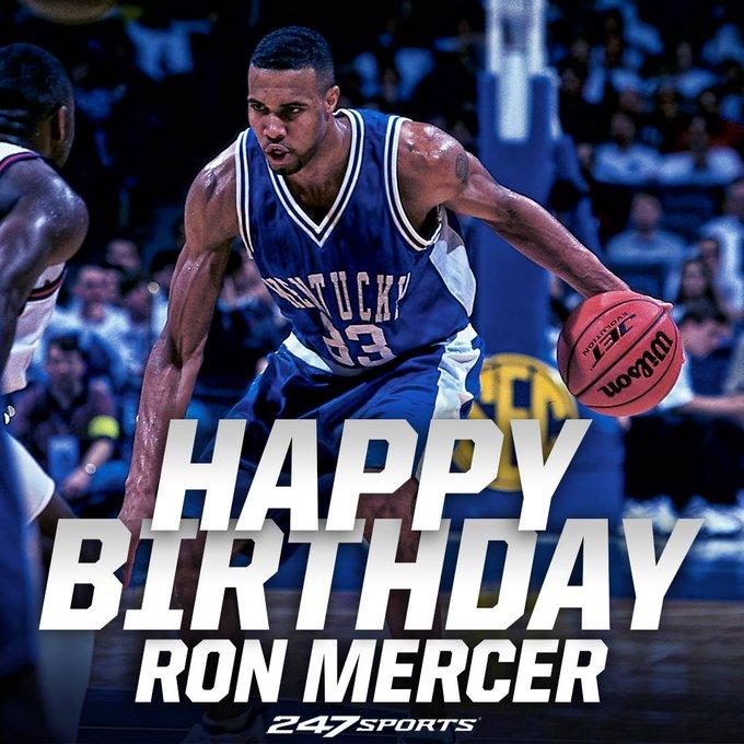 Happy birthday to 1996 national champion Ron Mercer!