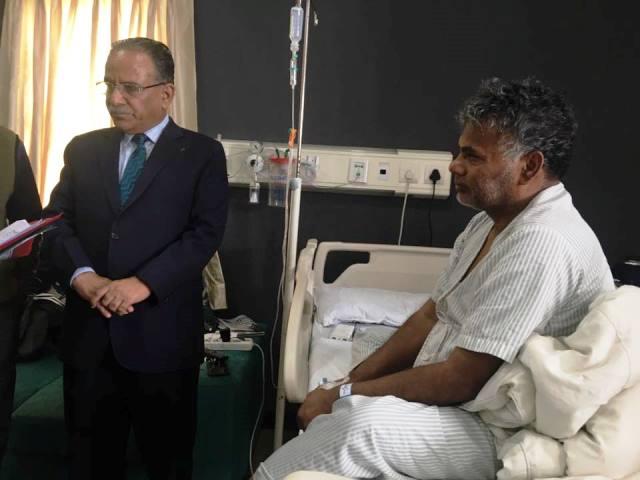 test Twitter Media - आपूर्ति मन्त्री यादवकाे तीन दिनदेखि अस्पतालमा, स्वास्थ्य अवस्था बुझ्न पुगे प्रचण्ड https://t.co/BMYarU3NnL https://t.co/VDnbEo0Bw2