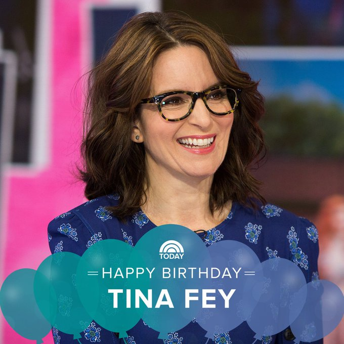 Remessageed TODAY ( Happy birthday, Tina Fey!