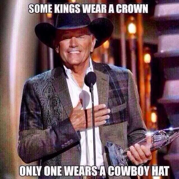 RT @CloydRivers: Happy Birthday to the King of Country Music. All hail King George. Merica. https://t.co/Ckz0M2so23