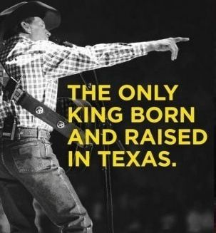 Happy Birthday, George Strait.  You get better looking every year and sound as good as ever.