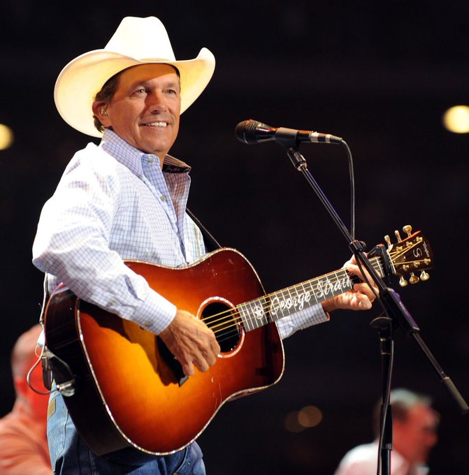 Happy Birthday to George Strait,  79 alum, who has 57 number 1 hits on the country music charts