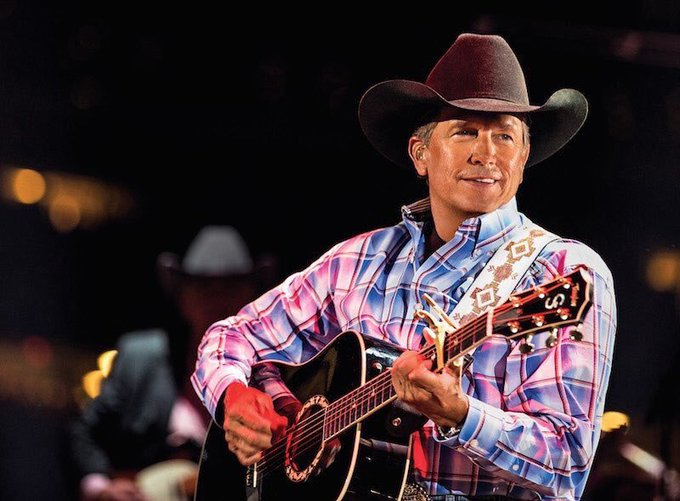 Probably the only birthday that matters, happy birthday to the king and my president George Strait