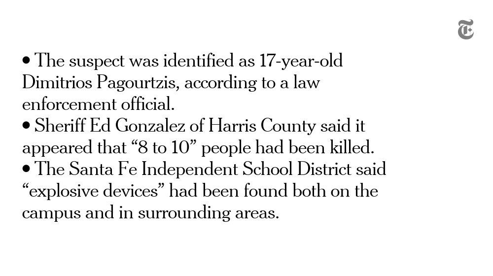 The latest on the school shooting in Santa Fe, Texas https://t.co/cpdowiHCYA https://t.co/lmdqu2aFZ1