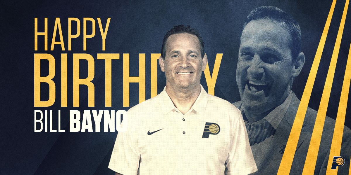 Join us in wishing happy birthday to assistant coach Bill Bayno! �� https://t.co/Ju7LP0roRV
