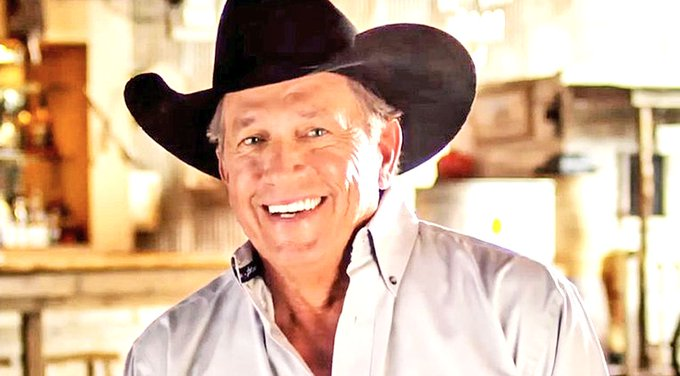 "Happy Birthday George Strait from the ""BIG 106.5\"""