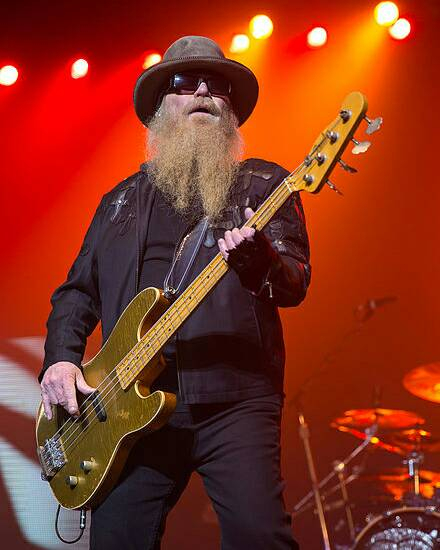 Happy Birthday to bassist Dusty Hill born on this day in 1949!
