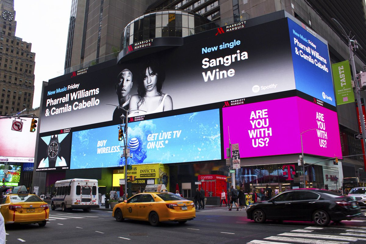 Thank you @Spotify! Listen to #SangriaWine on Today's Top Hitshttps://t.co/j32q6s0XEf https://t.co/aERfFFQYVI