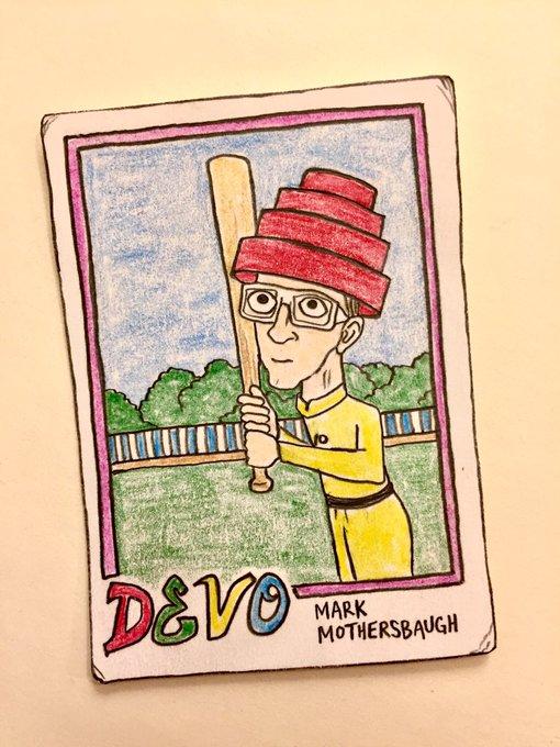 Wishing a very happy birthday to Devo s Mark Mothersbaugh!