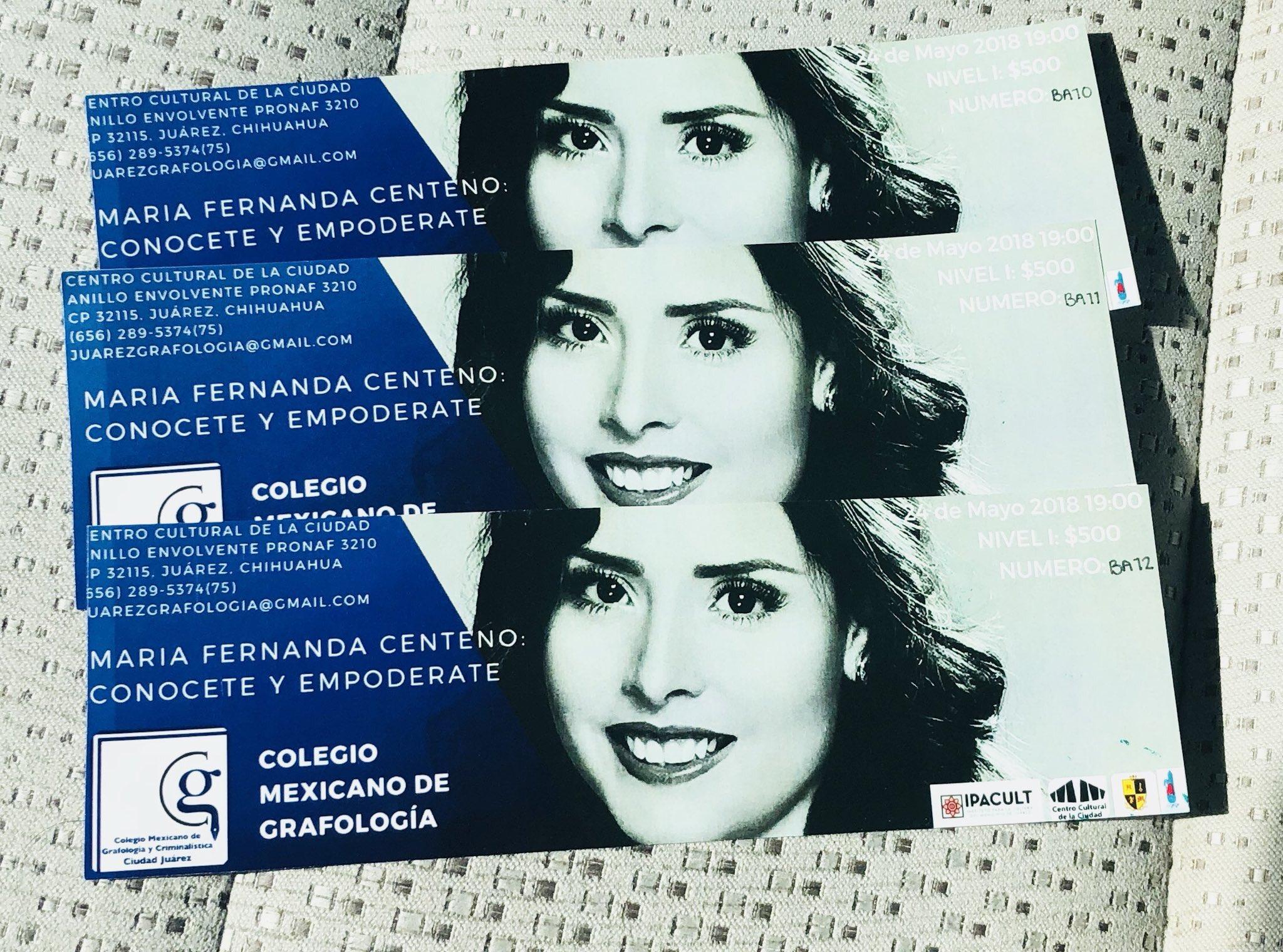 Quieres boletos para vernos en la conferencia de grafología en ciudad Juárez? Escríbeme a juarezgrafologia@gmail.com https://t.co/k2gw9z9ksQ