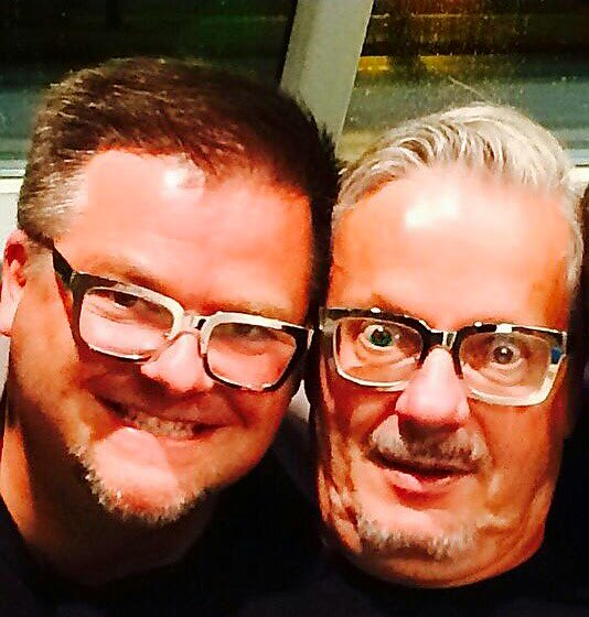 Happy birthday Mark Mothersbaugh an inspiration in art and music (and eye glasses)