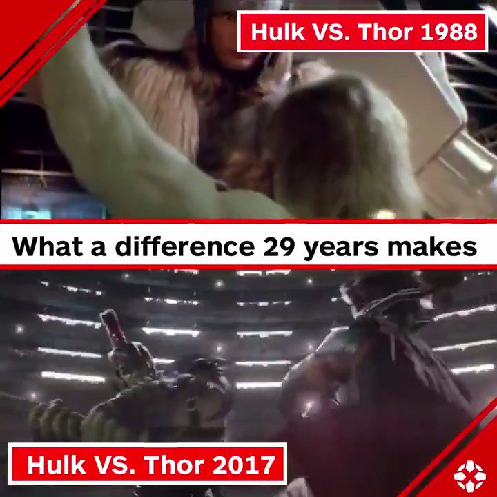 What a difference 29 years makes