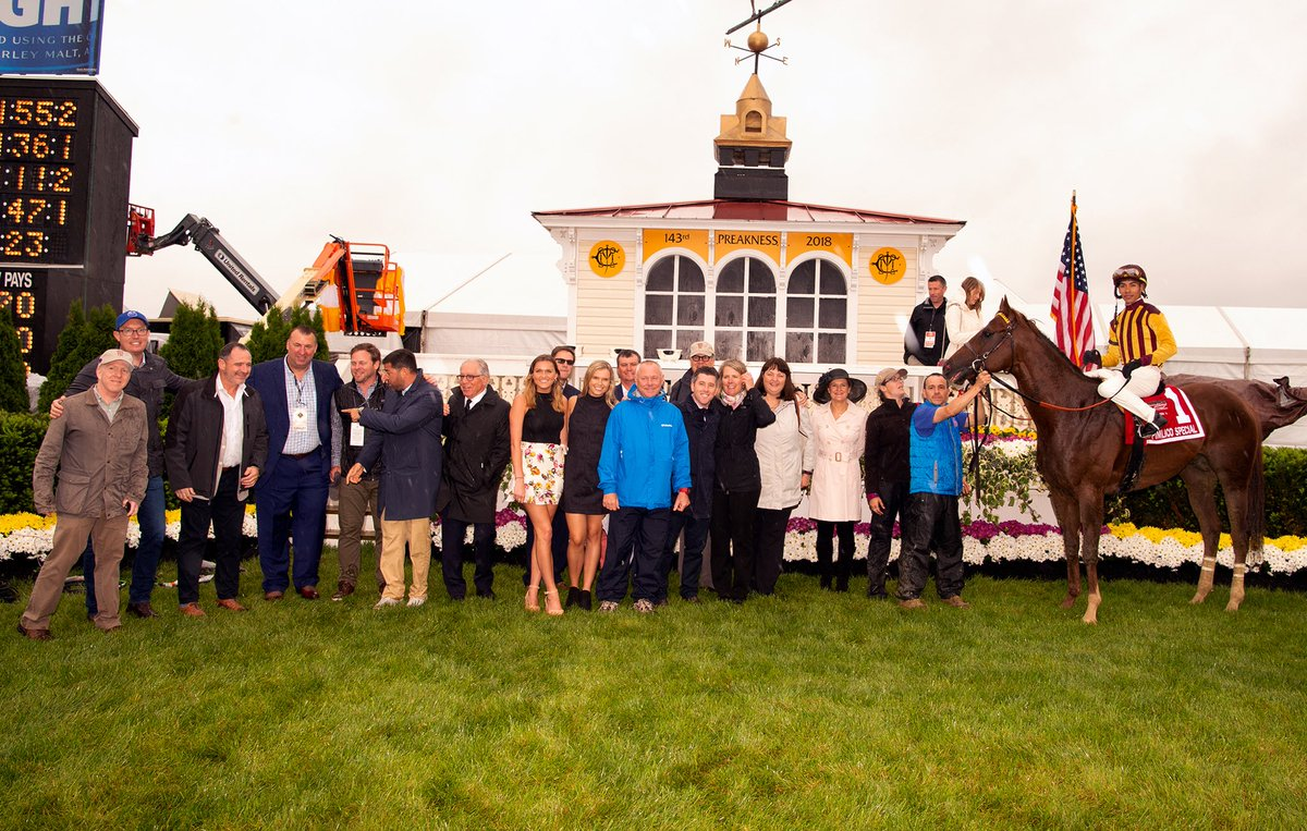 test Twitter Media - Great start to Preakness Weekend. BSW Syndicated Irish War Cry Wins the Pimlico Special. BSW Private Purchase Secret Message runs 2nd in the Hilltop. Thanks to @GrahamMotion and his super team. @PimlicoRC did a great job in the rain. Go Justify tomorrow @PreaknessStakes https://t.co/LA0IzgjF9H