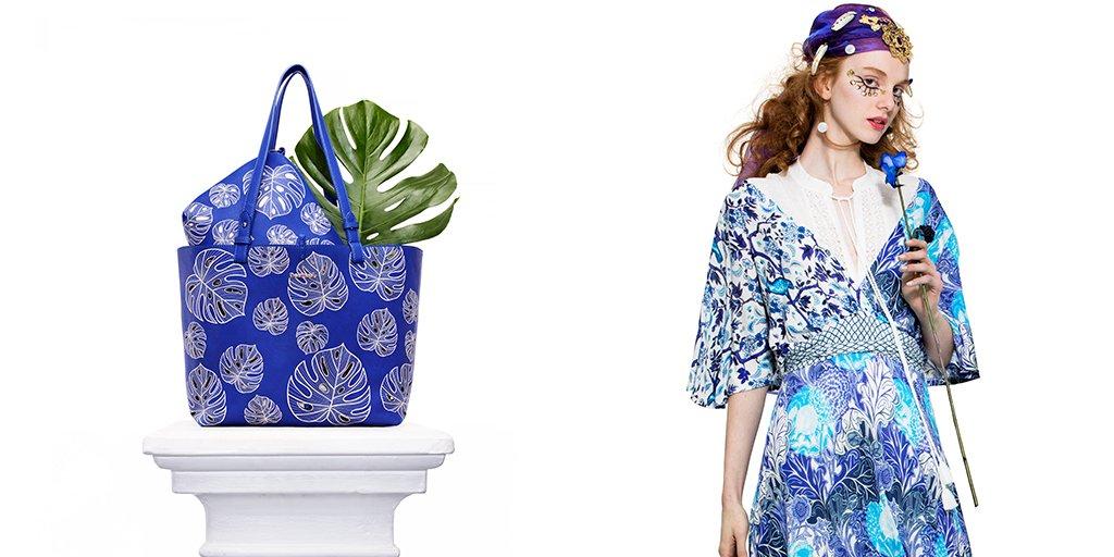 【夏はすぐそこ!】カラーはブルー💙夏のファッションは地中海からのインスピレーションがトレンド。日常よく使えるバッグから取り入れてみよ👜 https://t.co/ZhPOLBhQMa https://t.co/GXs7nE7wyP