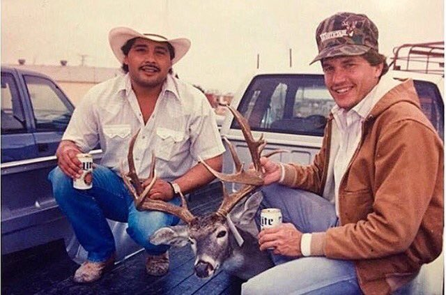 Happy Birthday George Strait!! Have you ever seen a more Texan picture than this?