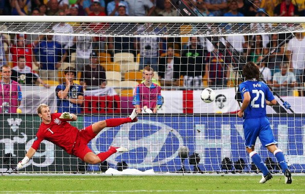 Happy Birthday Andrea Pirlo.  Joe Hart will never forget this