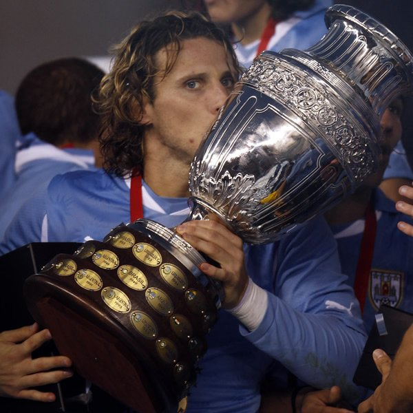 - Copa Americas: 1  - Premier Leagues: 1  - Europa Leagues: 1  - FA Cups: 1  Happy birthday Diego Forlan